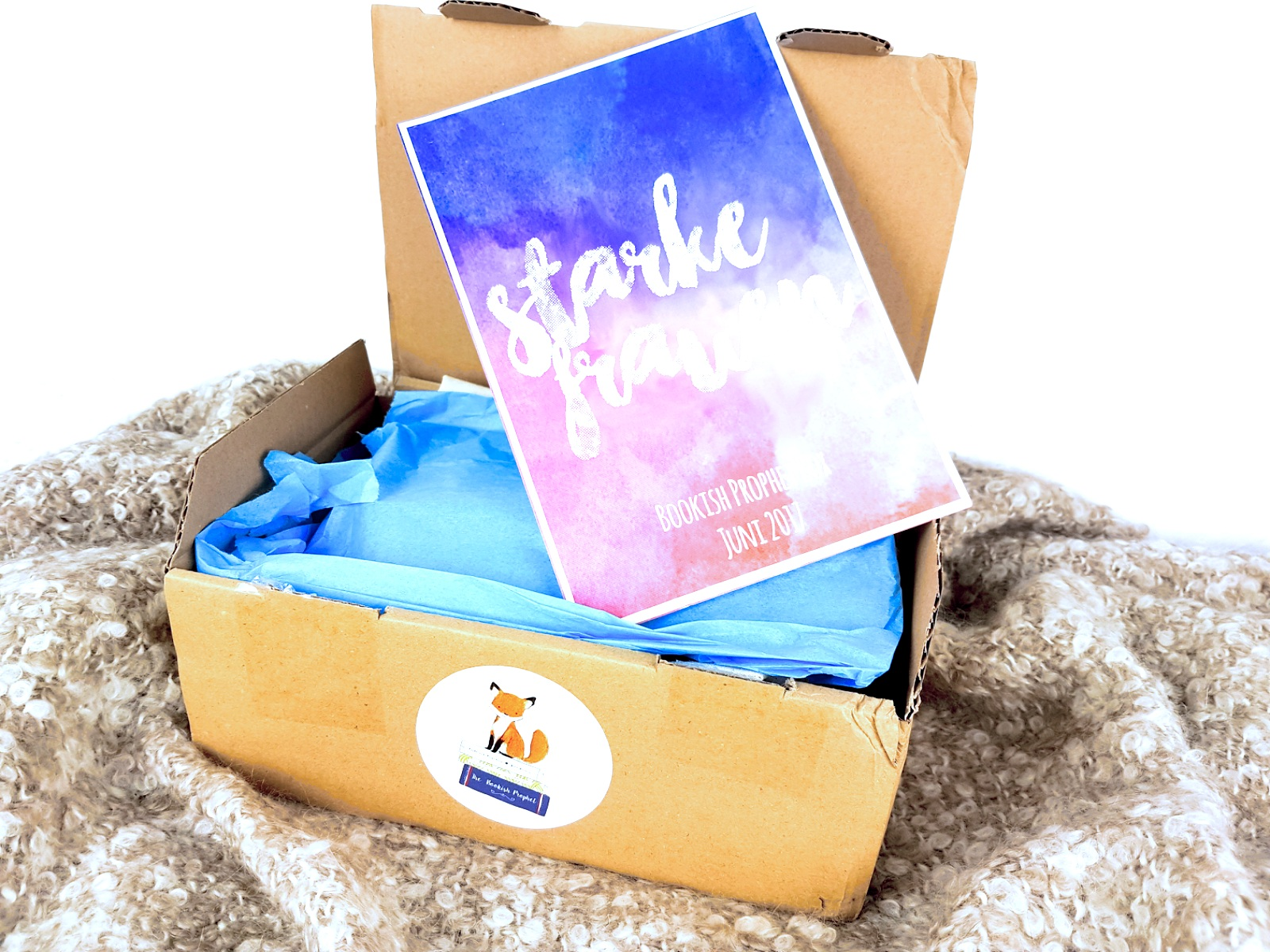 Unpacking: The Bookish Prophet Box – Starke Frauen