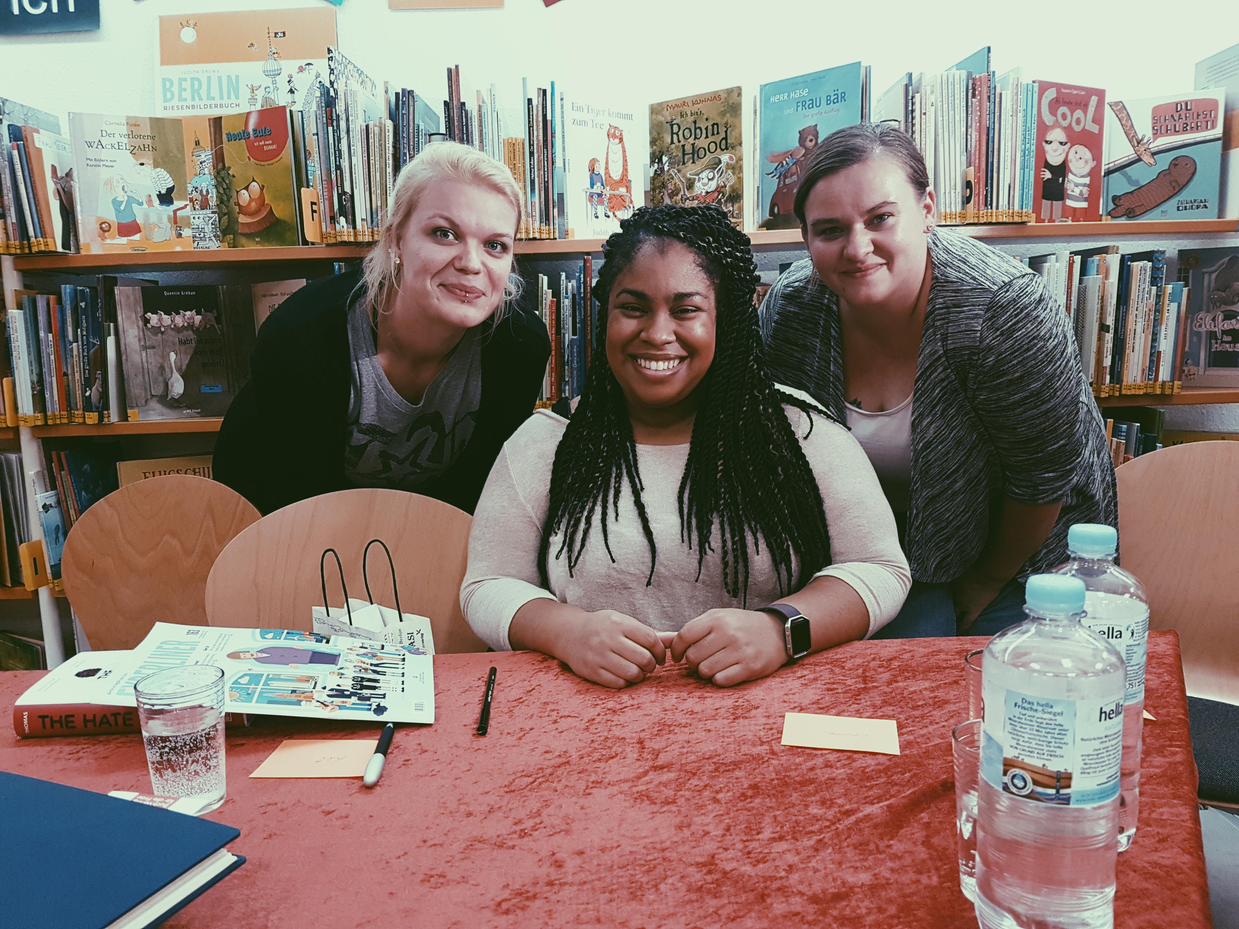 Lesungsbericht und Gewinnspiel : THE HATE U GIVE von Angie Thomas