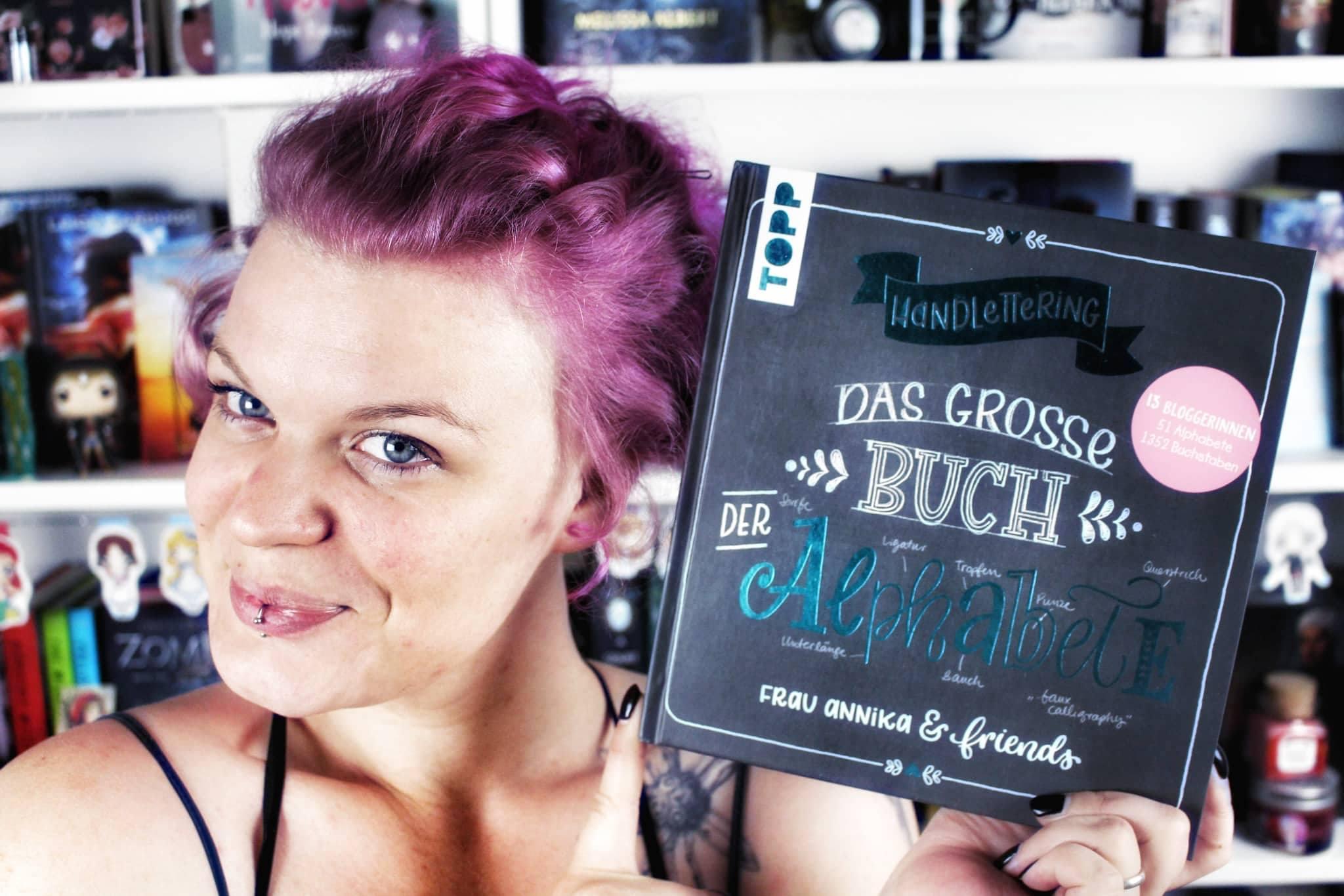 [DIY] Handlettering – Das große Buch der Alphabete / Frau Annika & friends
