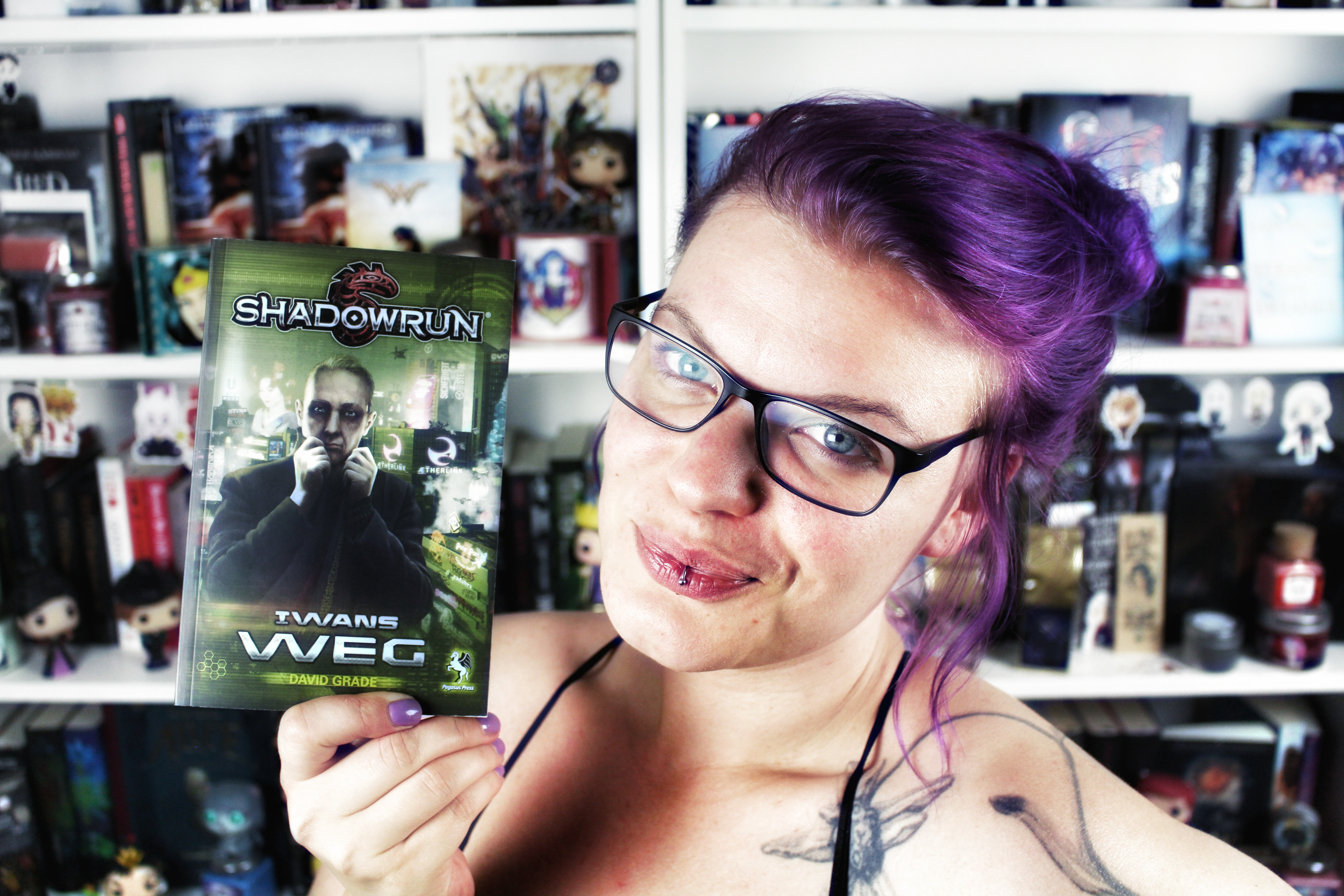 Rezension: Shadowrun: Iwans Weg / David Grade