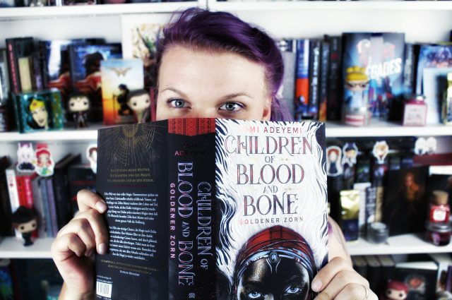 Rezension: Children of Blood and Bone. Goldener Zorn / Tomi Adeyemi