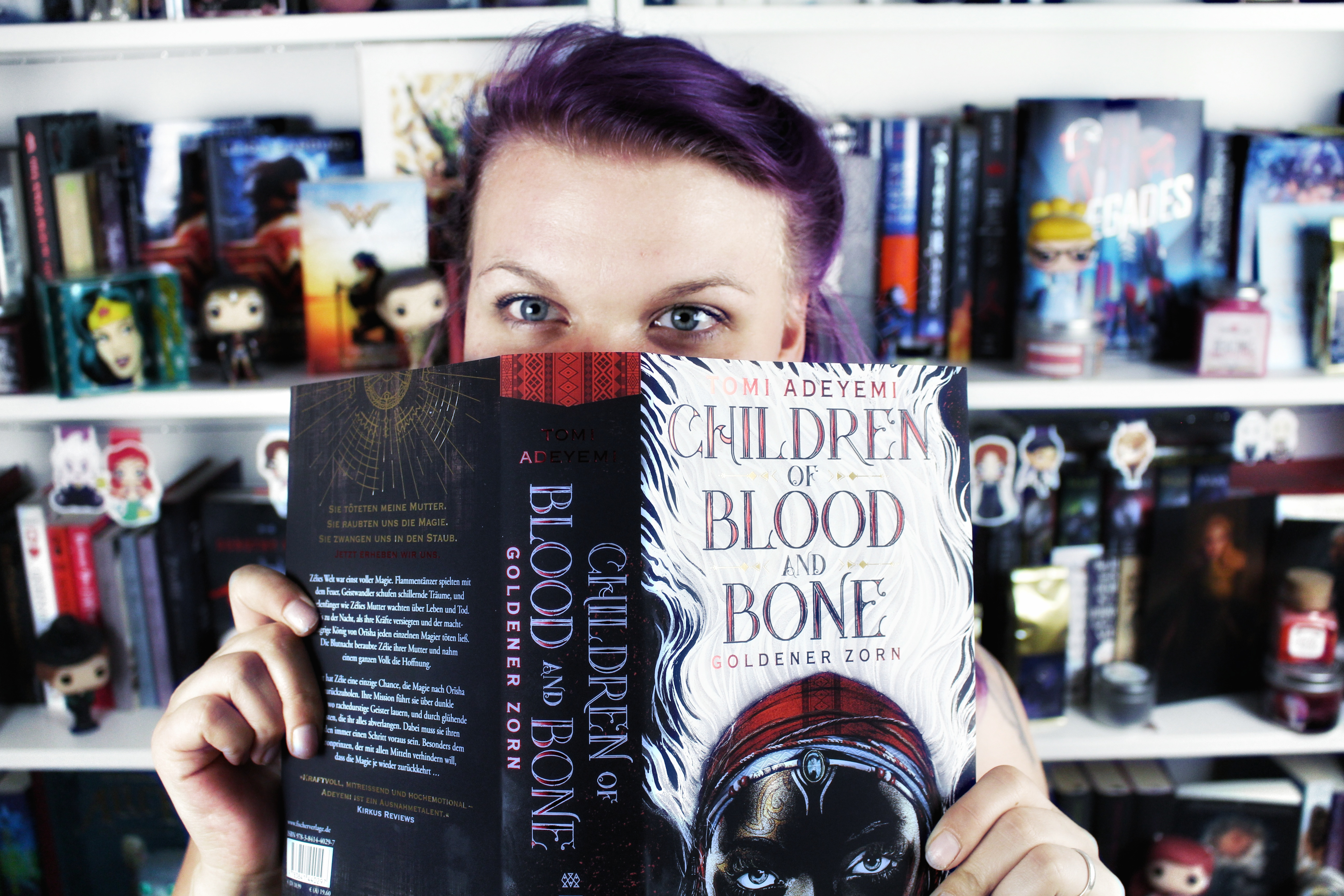 Rezension: Children of Blood and Bone. Goldener Zorn / Tomi Adeyemi