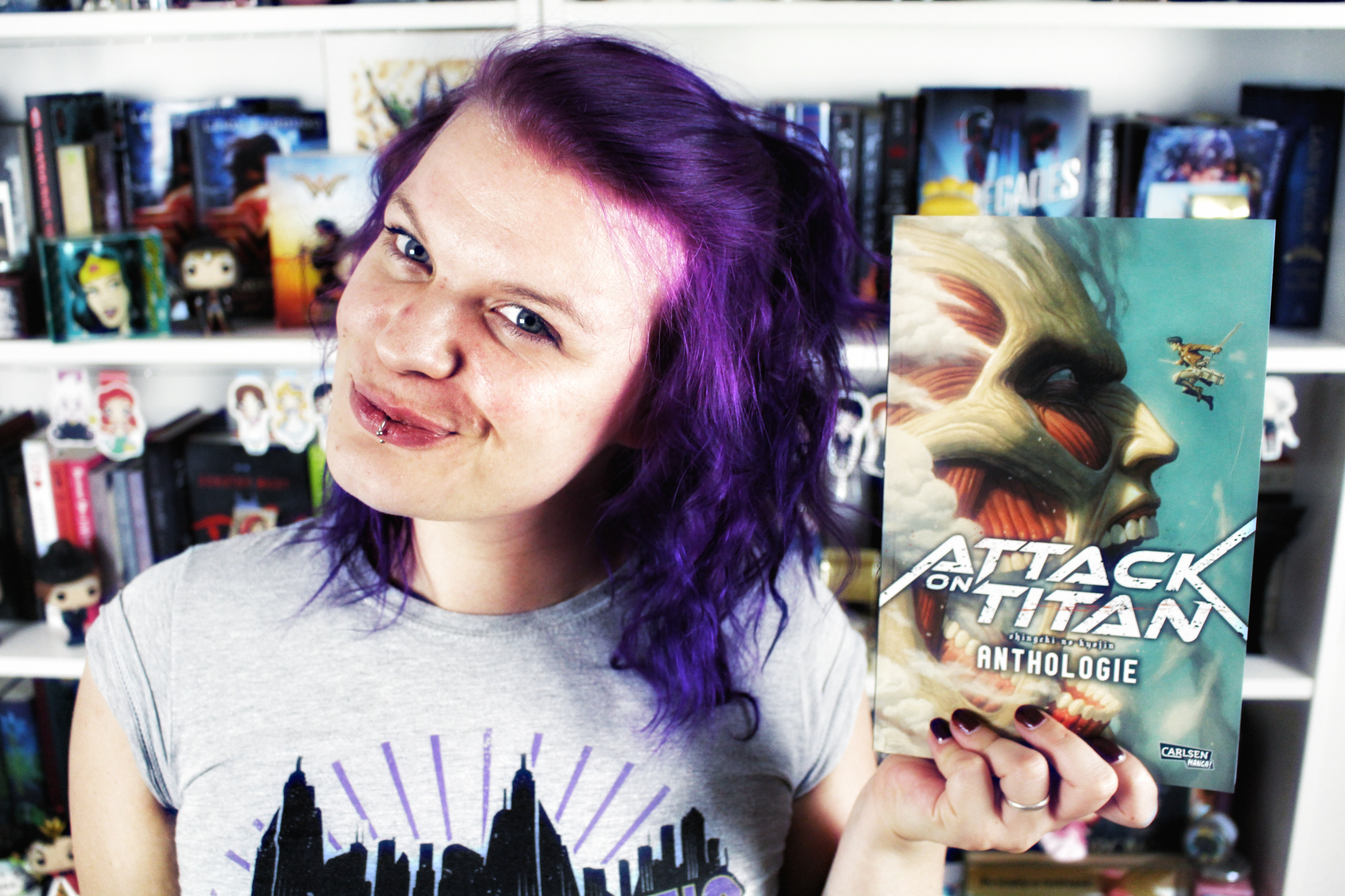 Rezension: Attack on Titan Anthologie