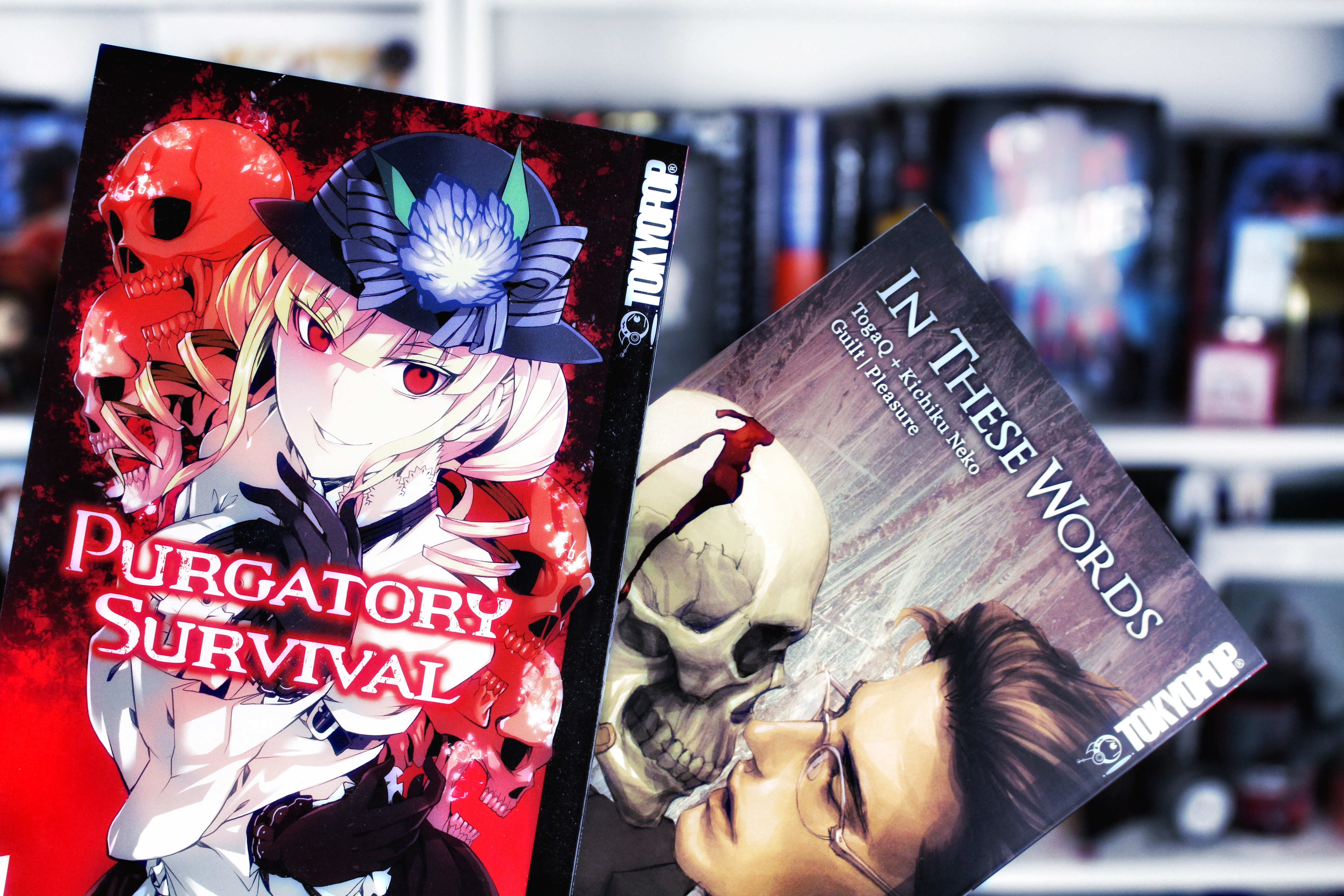 Rezension: Purgatory Survival 01  & In these words 01