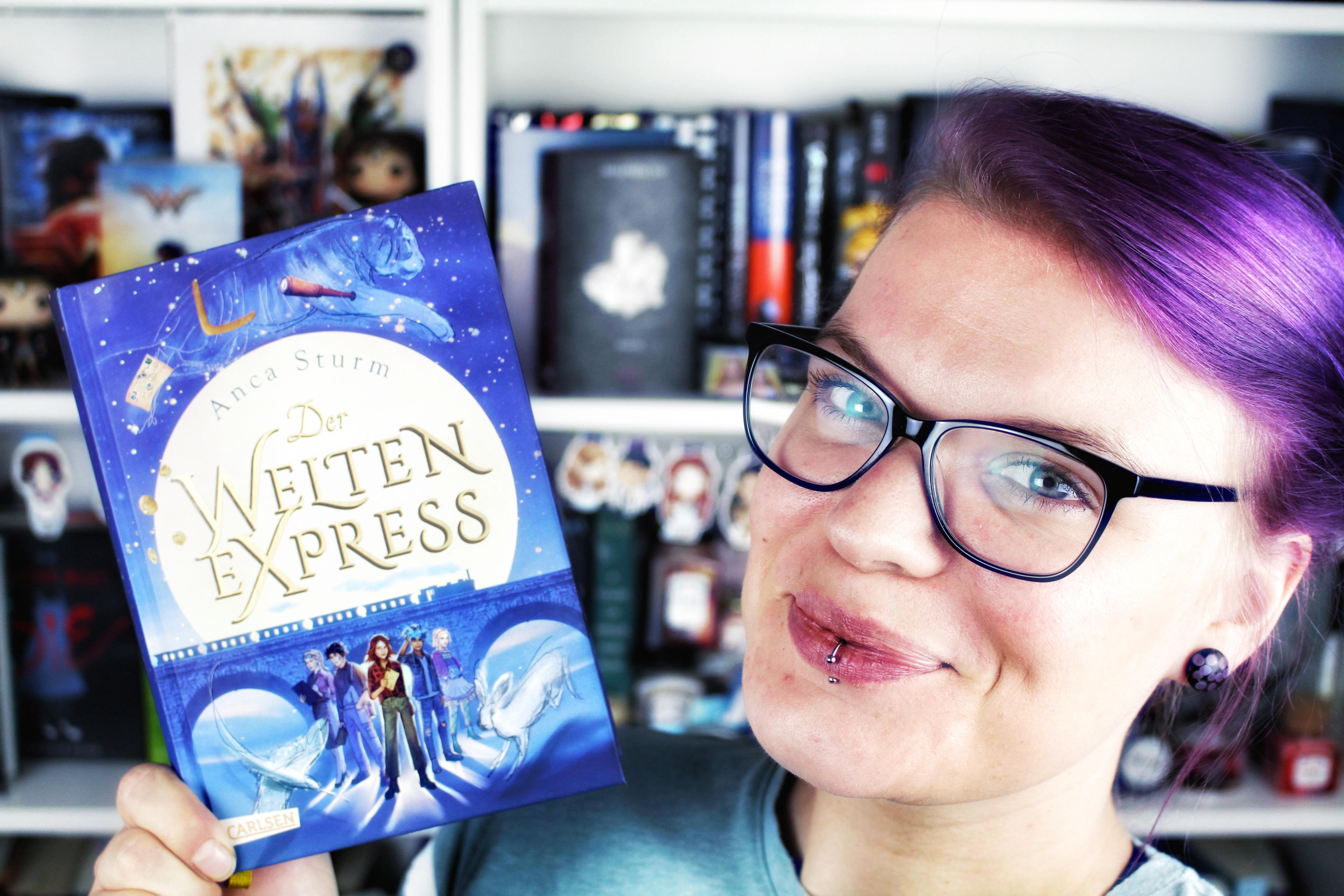 Rezension: Der Welten-Express / Anca Sturm