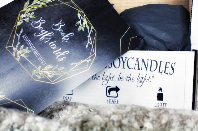 Unpacking: [Stellettes Soycandles] Candlebox – Bookboyfriends