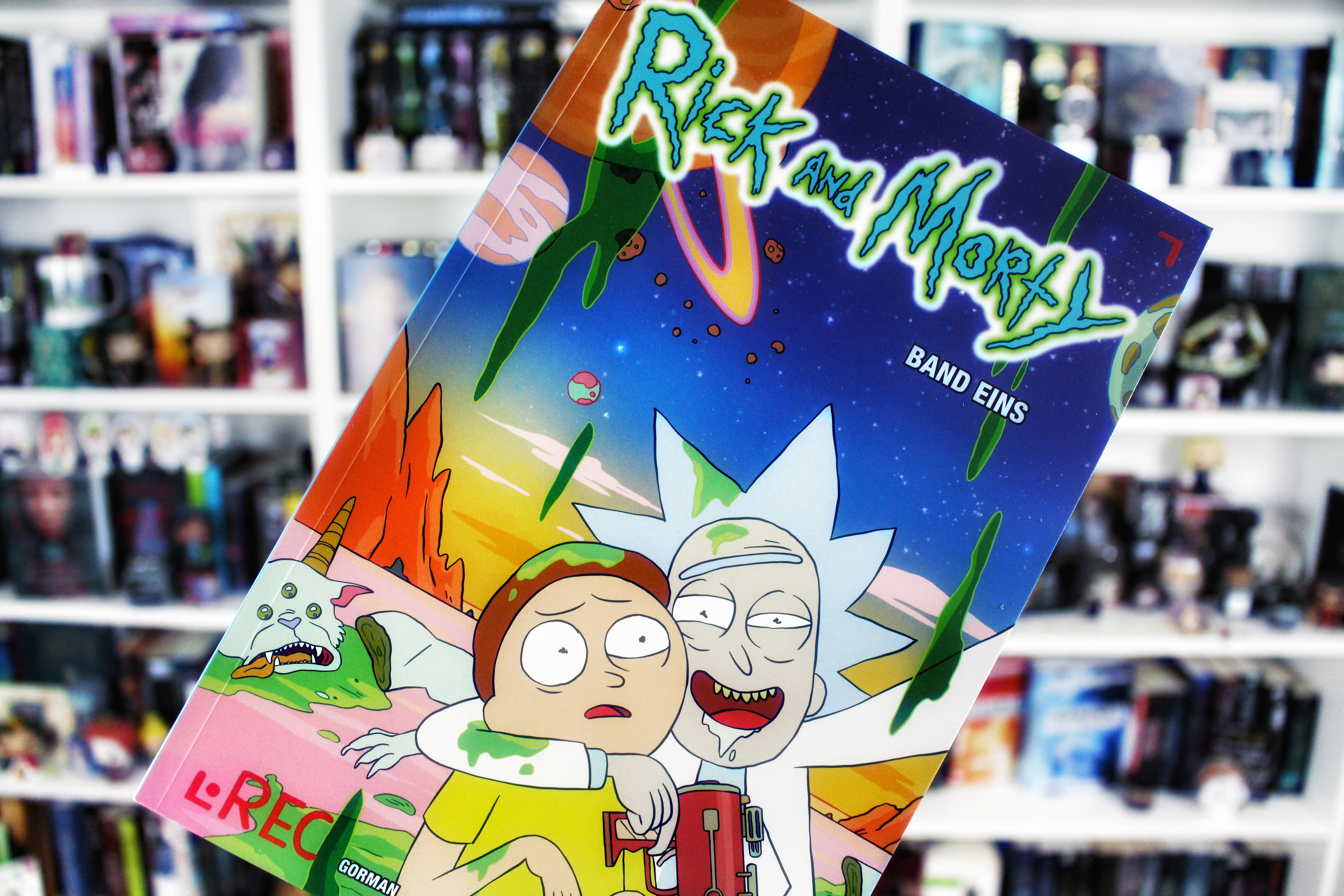 Rezension: Rick and Morty Bd. 1