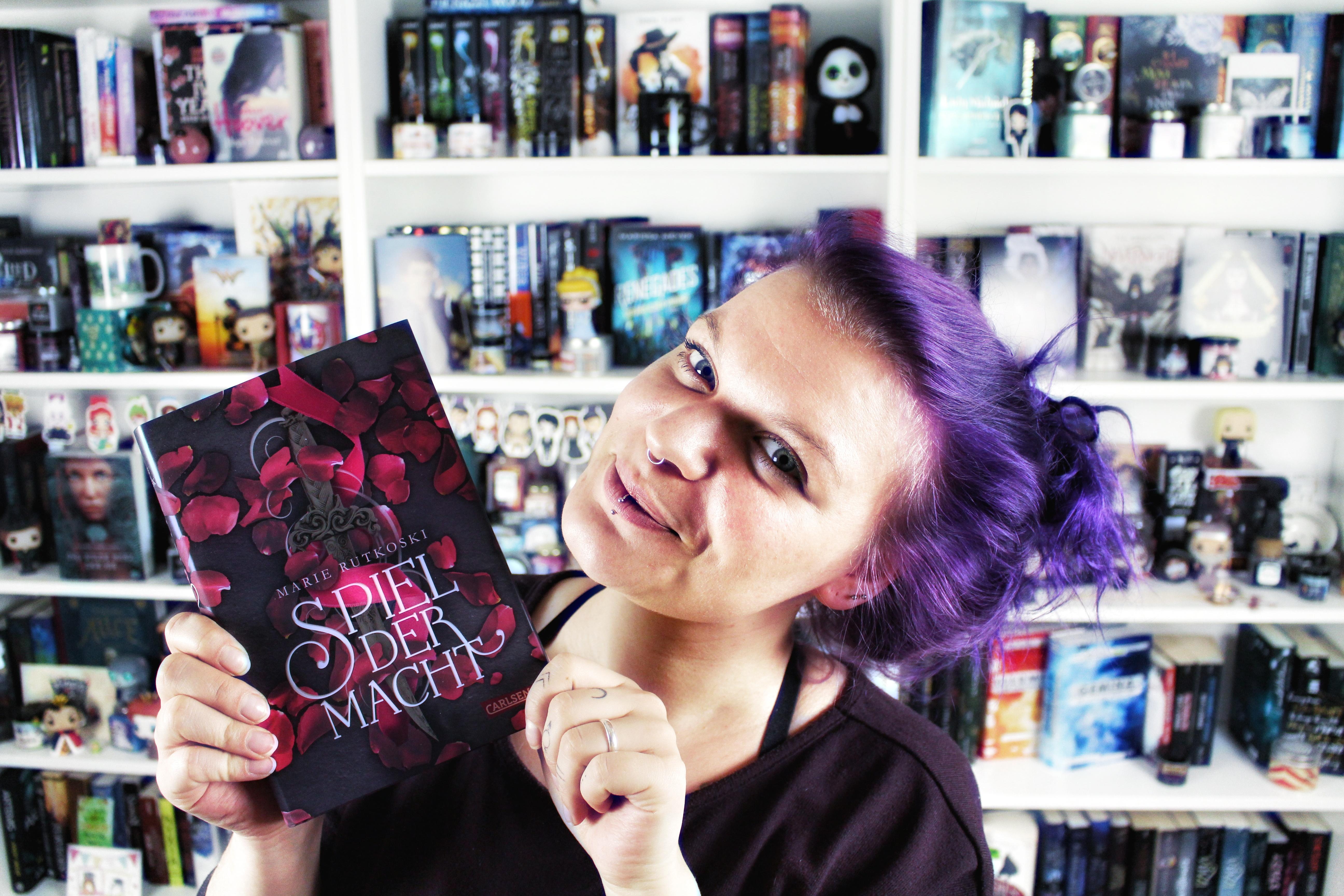 Rezension: Spiel der Macht / Marie Rutkoski | 5 Gründe zum Buch zu greifen