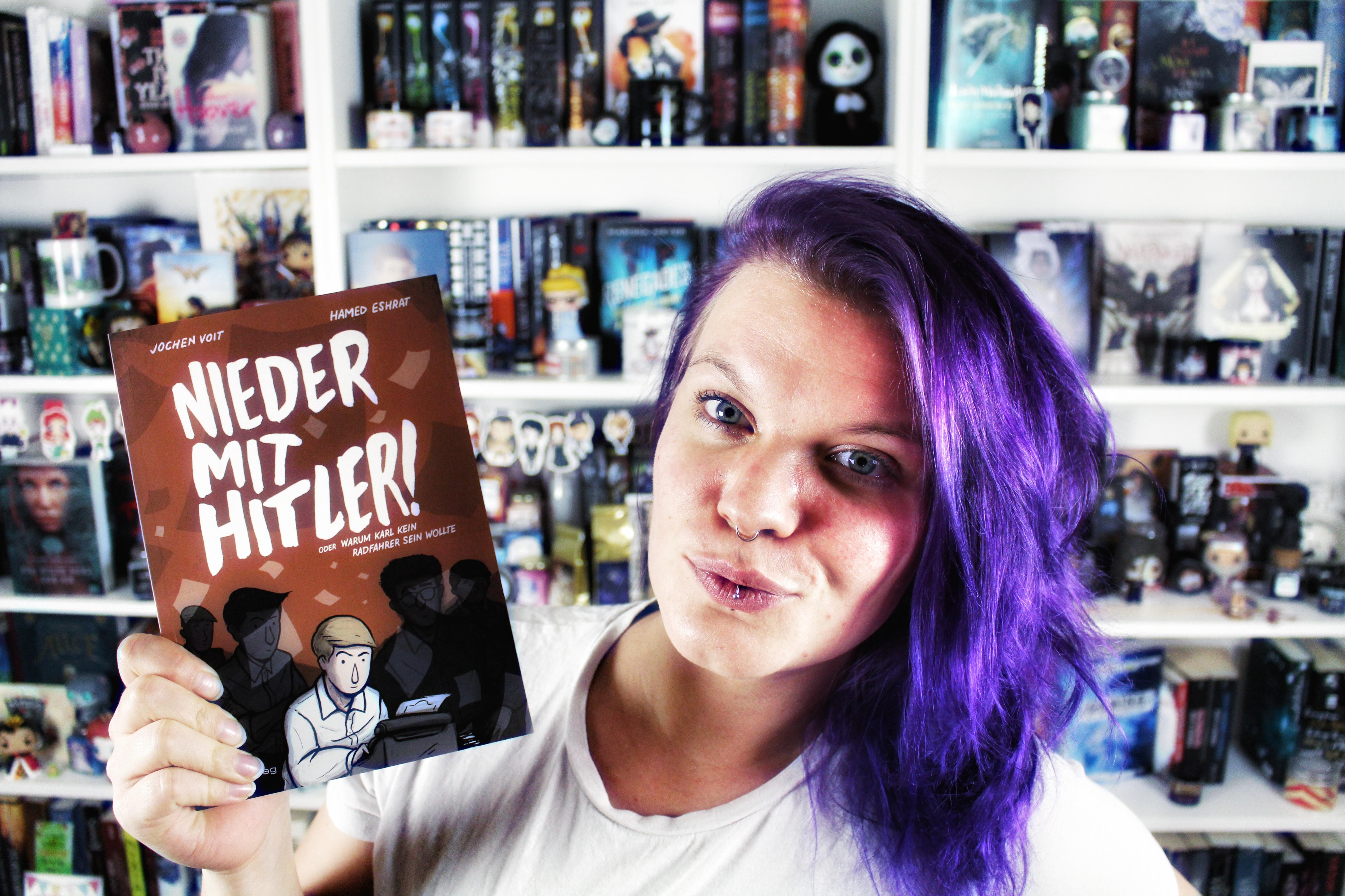 Rezension | Nieder mit Hitler! von Jochen Voit & Hamed Eshrat