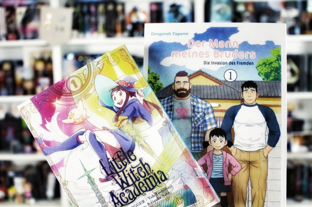 Rezension | Der Mann meines Bruders & Little Witch Academia