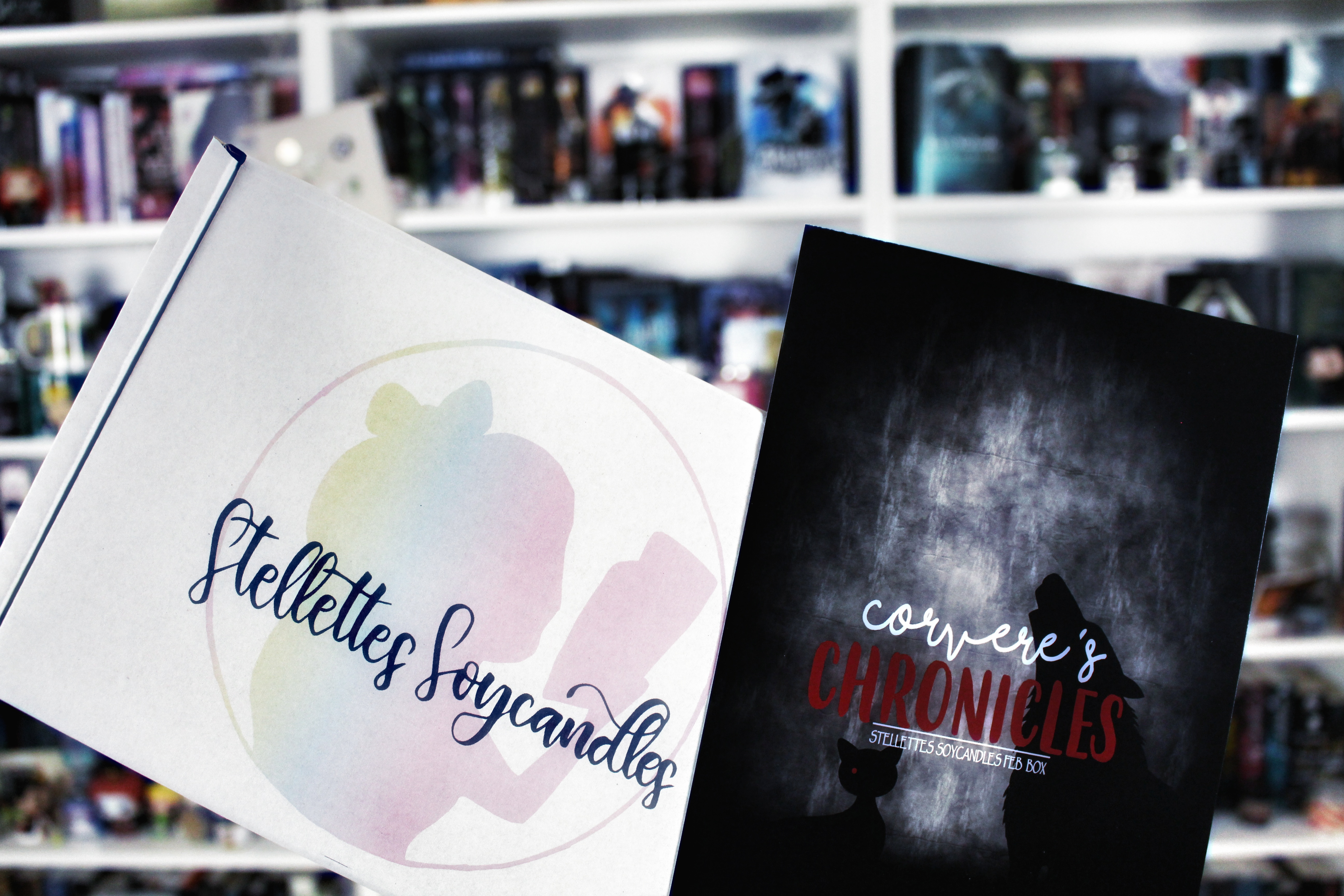 Unpacking: [Stellettes Soycandles] Candlebox – Corvere's Chronicles