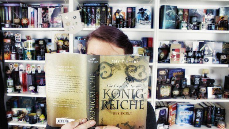 Rezension | Die Legende der vier Königreiche. Besiegelt von Amy Tintera