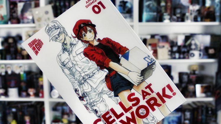 Rezension | Cells at Work 01 von Akane Shimizu