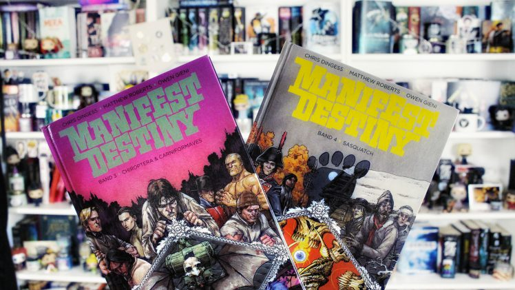 Rezension | Manifest Destiny Bd. 3 & 4 von Dingess, Roberts & Gieni