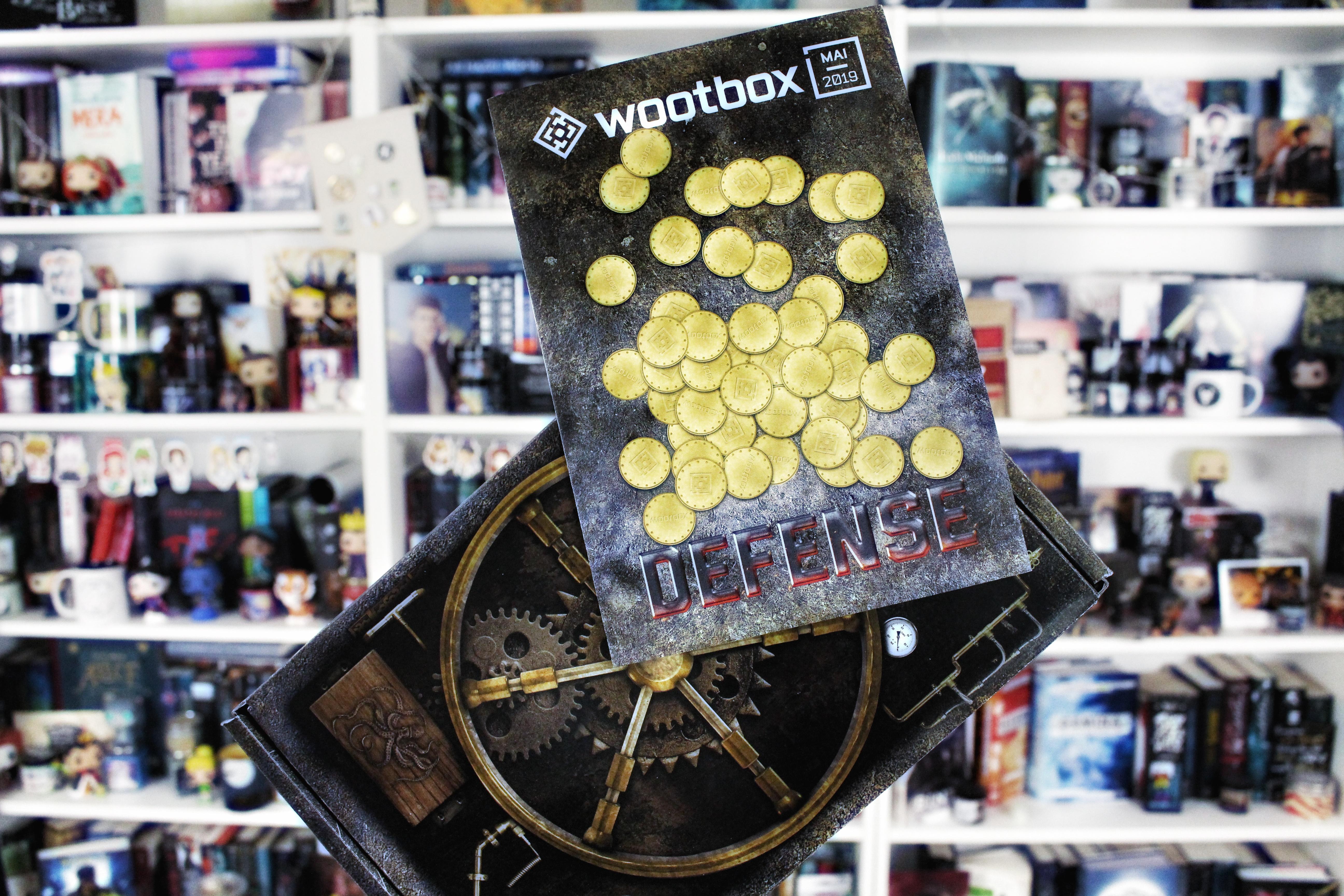 Unpacking | Wootbox – Defense