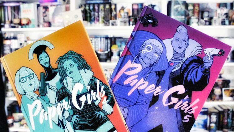 Rezension | Paper Girls Bd. 4 & 5 von Brian K. Vaughan & Cliff Chiang