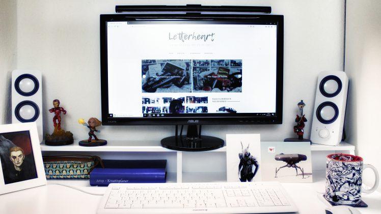 Werbung | BenQ ScreenBar e-Reading lamp