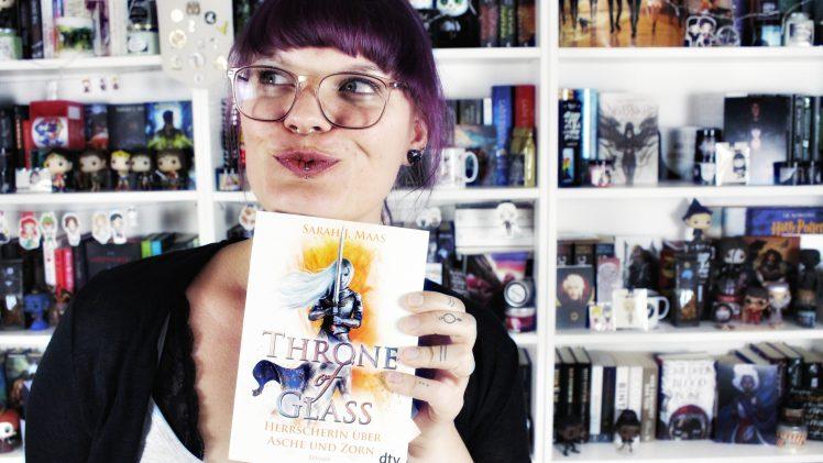 Rezension | Throne of Glass. Herrscherin über Asche und Zorn von Sarah J. Maas