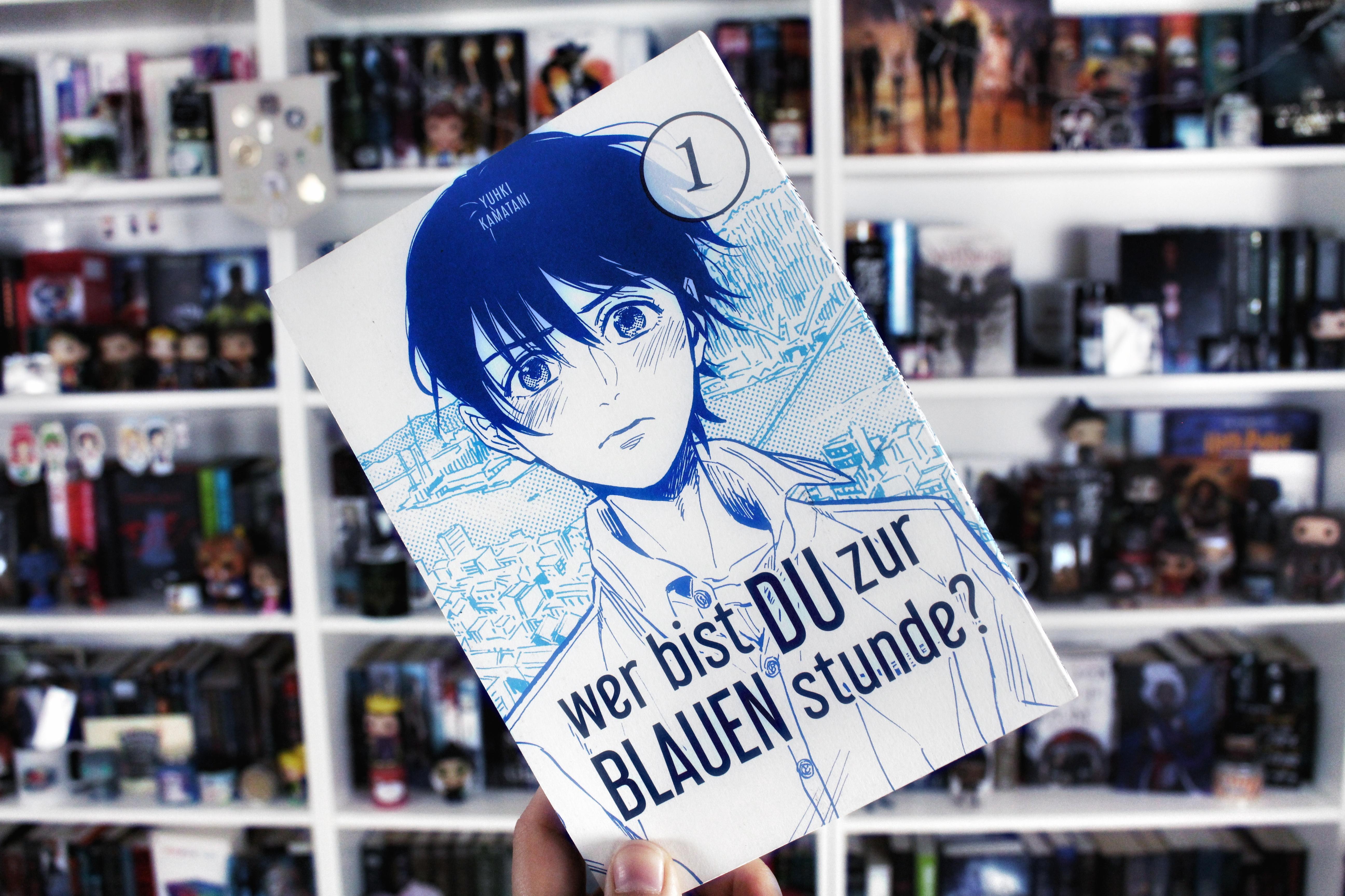 Rezension | Wer bist du zur blauen Stunde? 1 von Yuhki Kamatani