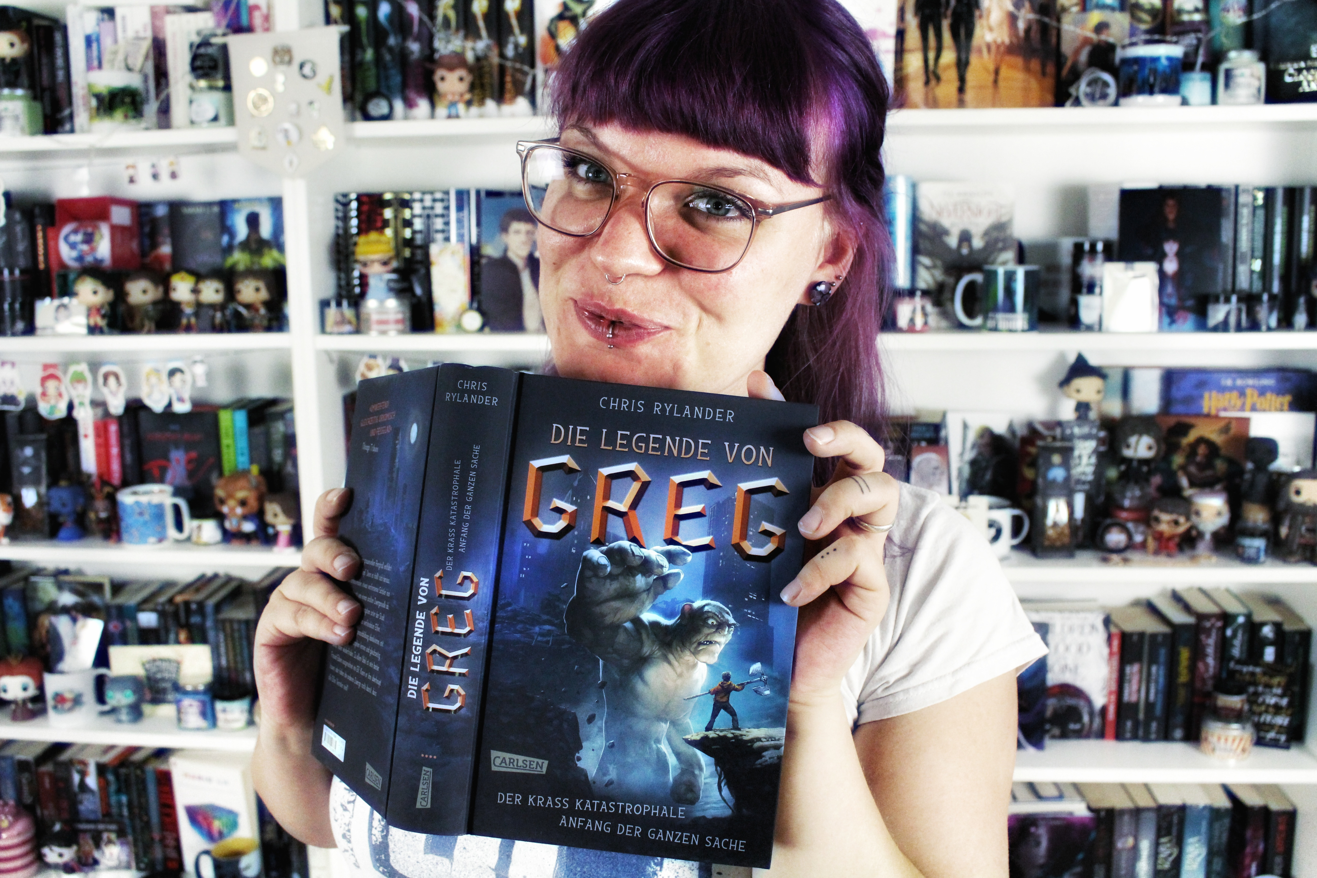 Rezension | Die Legende von Greg von Chris Rylander