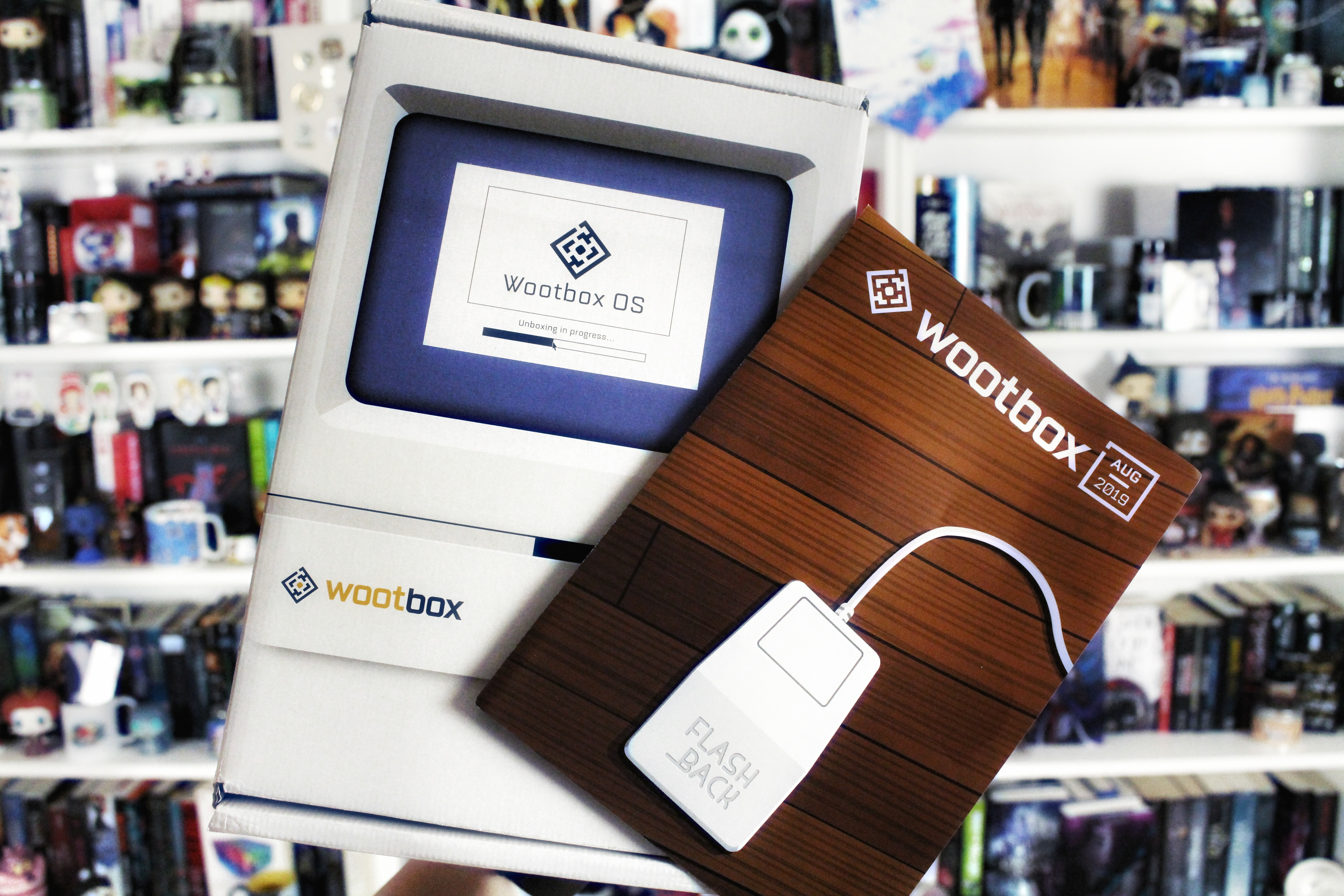 Unpacking | Wootbox – Flashback