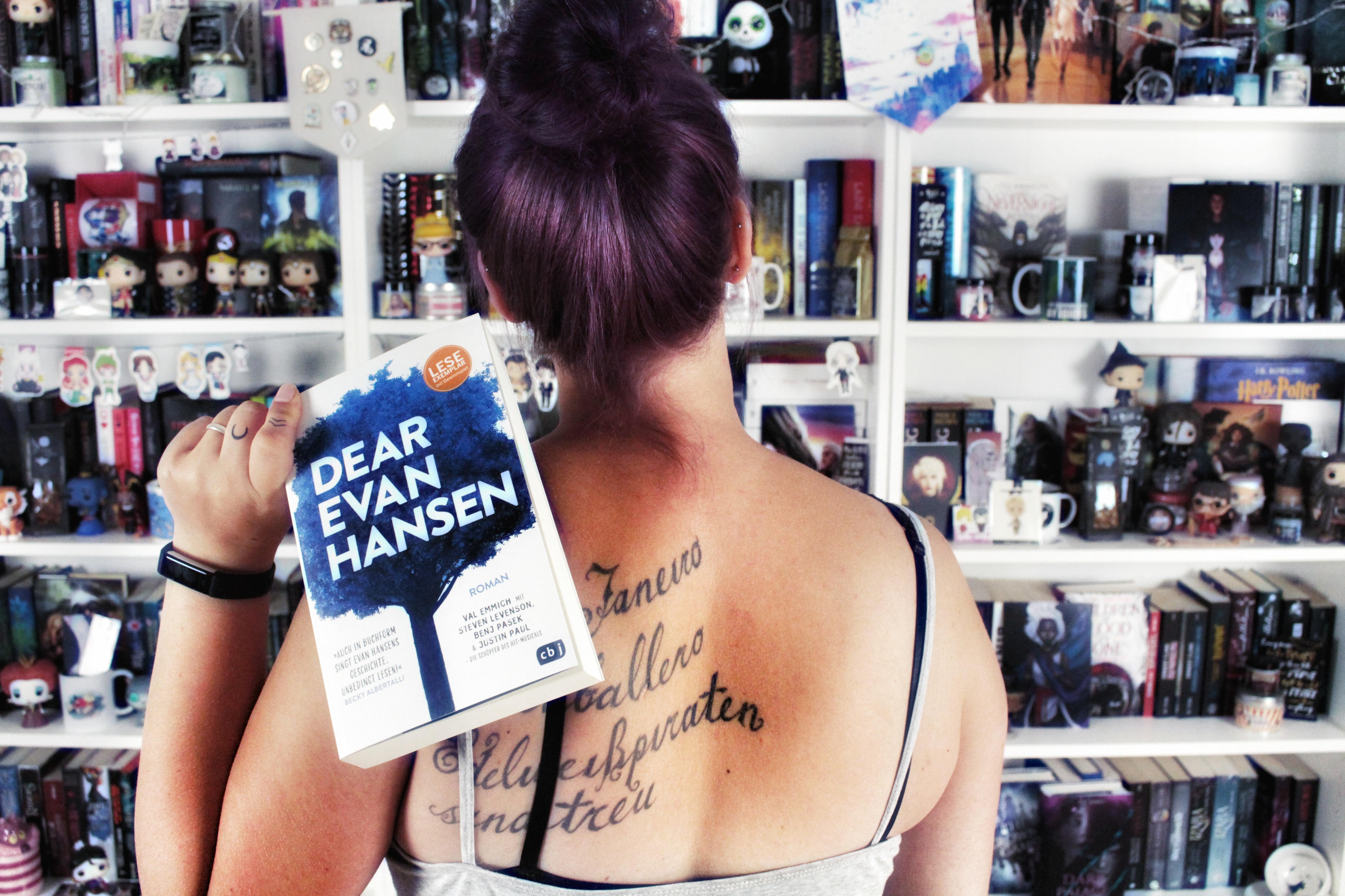 Blogtour | Dear Evan Hansen – Wieso bist du so?