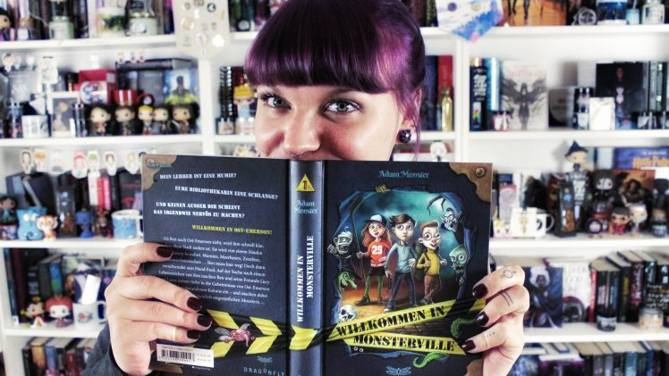 Rezension | Willkommen in Monsterville von Adam Monster