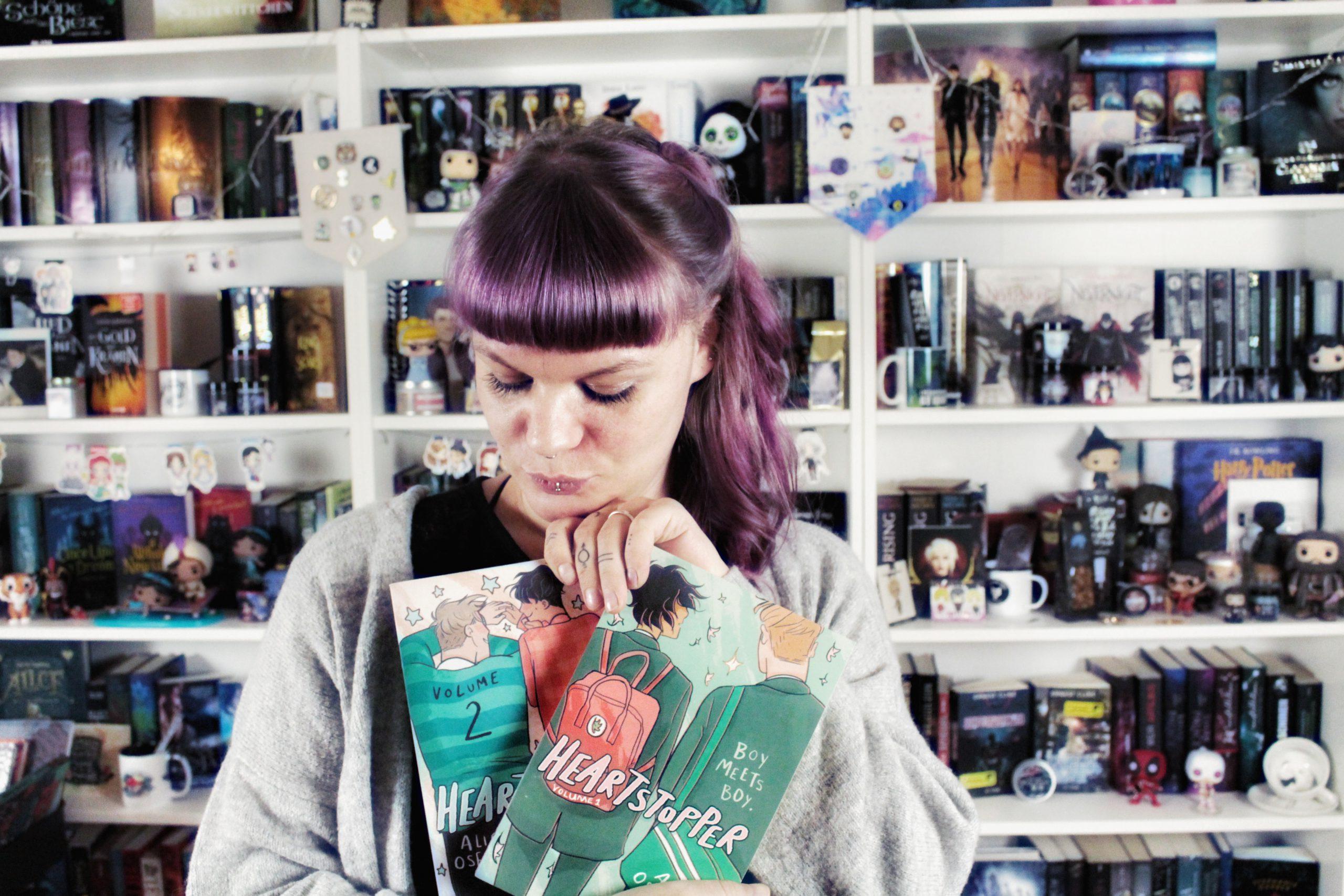 Heartstopper von Alice Oseman – eine kleine Liebeserklärung
