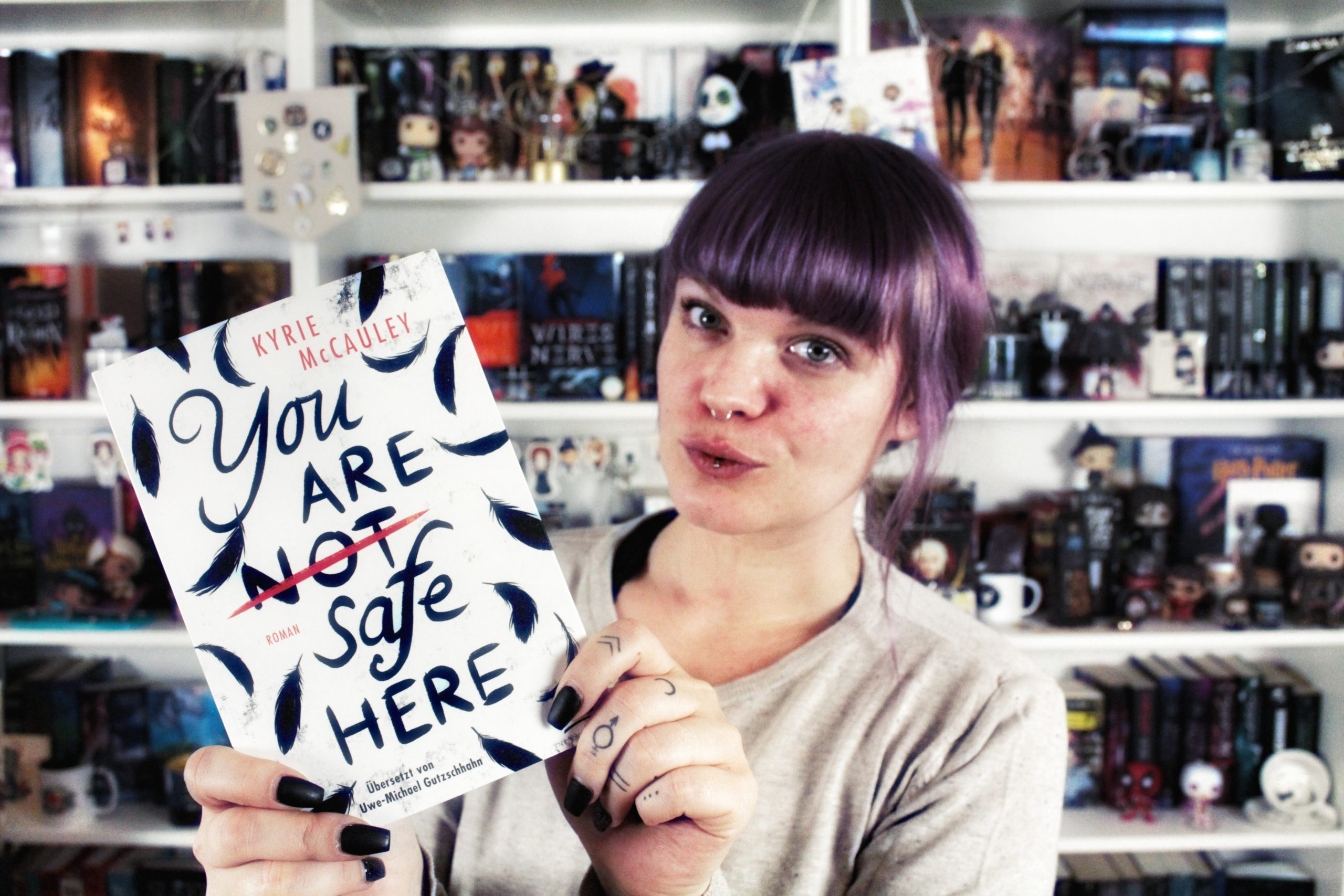 Rezension | You are (not) safe here von Kyrie McCauley