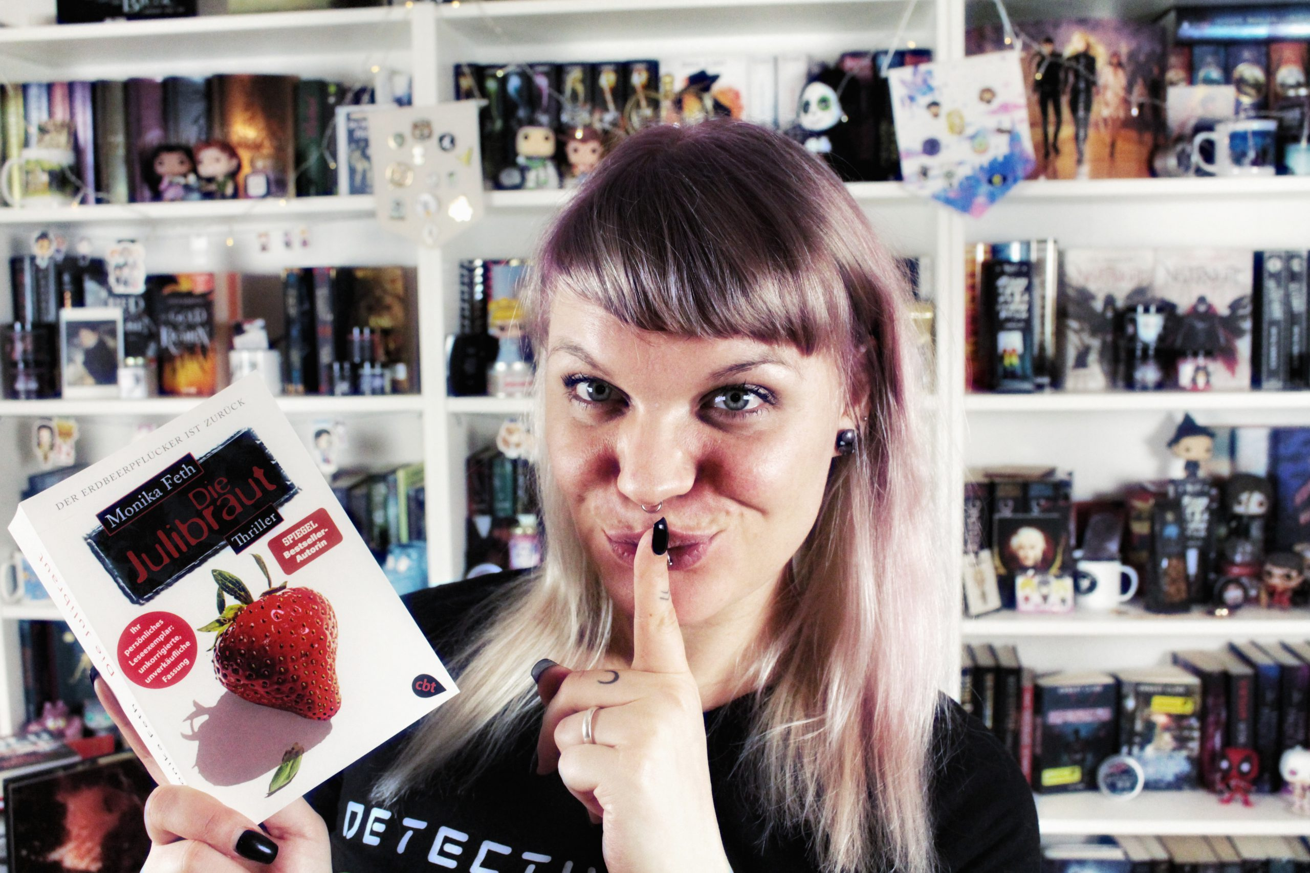 Rezension | Die Julibraut von Monika Feth