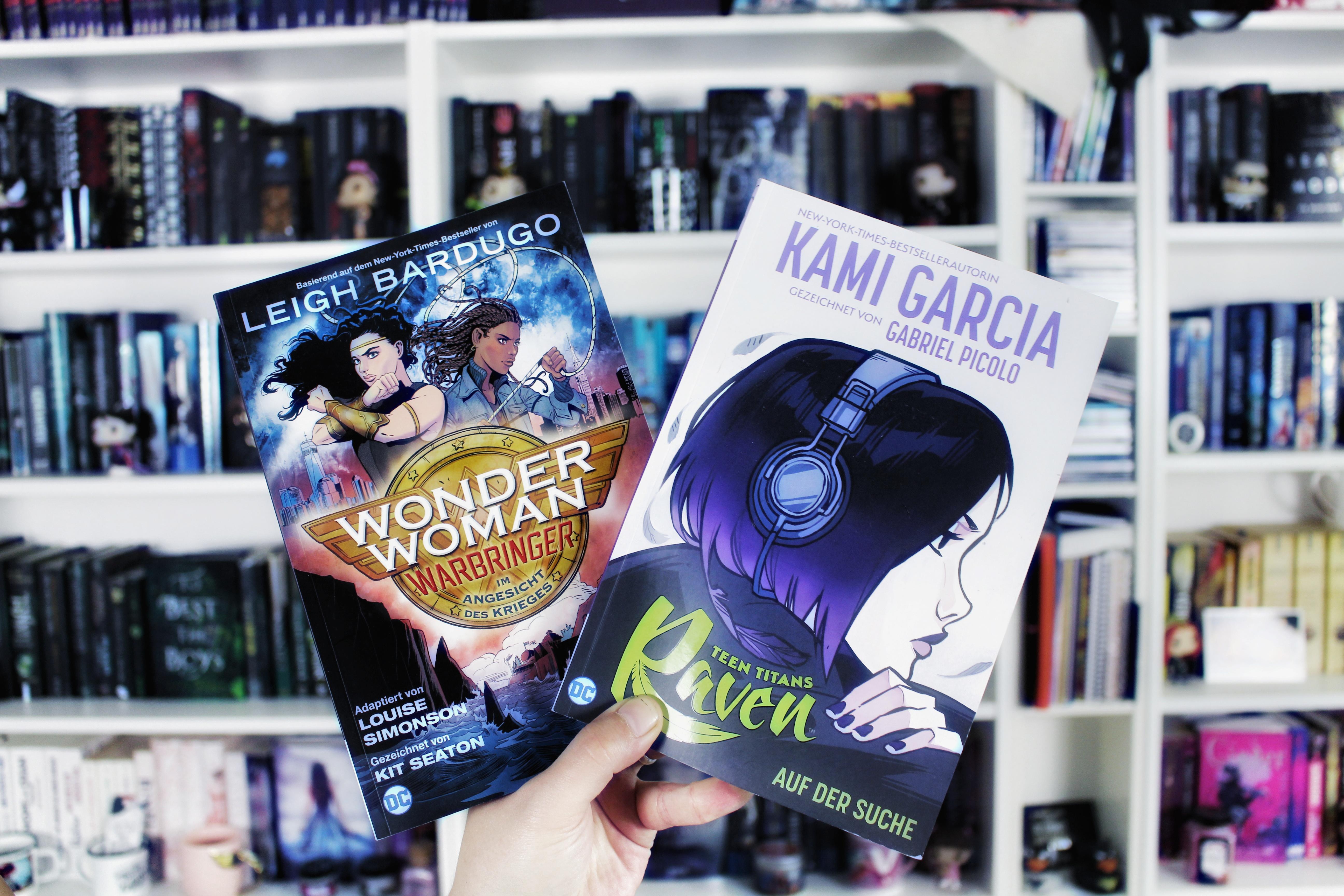 Panini ink im Doppelpack | Wonder Woman: Warbringer & Teen Titans: Raven