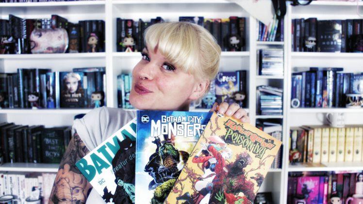Bundle-Rezension | Gotham City Monsters, Batman: Kreatur der Nacht & Harley Quinn und Poison Ivy