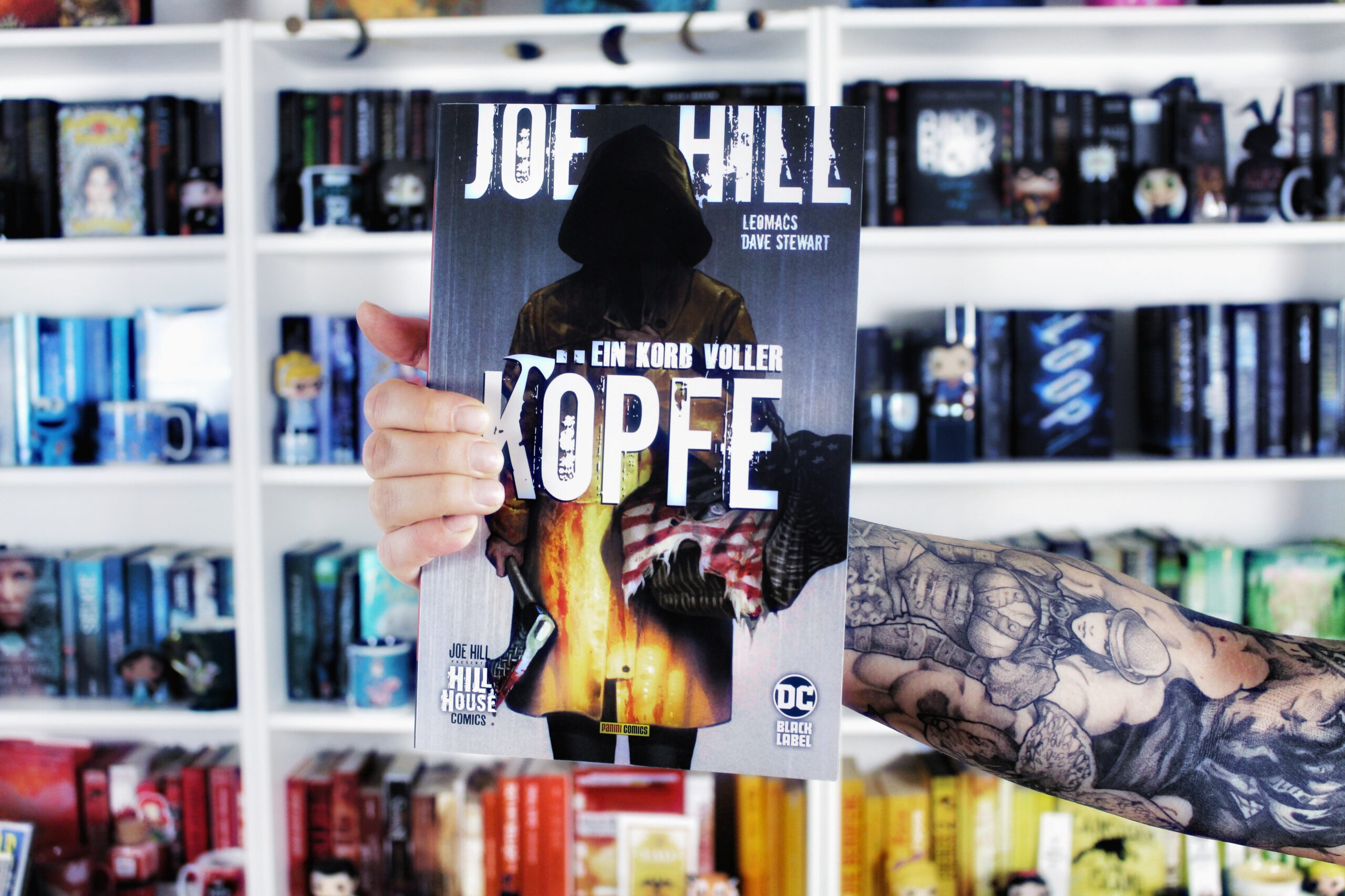 Rezension | Joe Hill – Ein Korb voller Köpfe