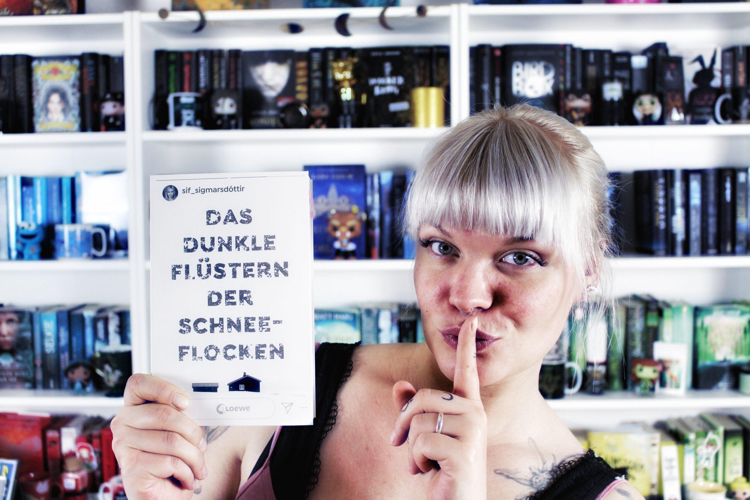 Rezension | Das dunkle Flüstern der Schneeflocken von Sif Sigmarsdottir