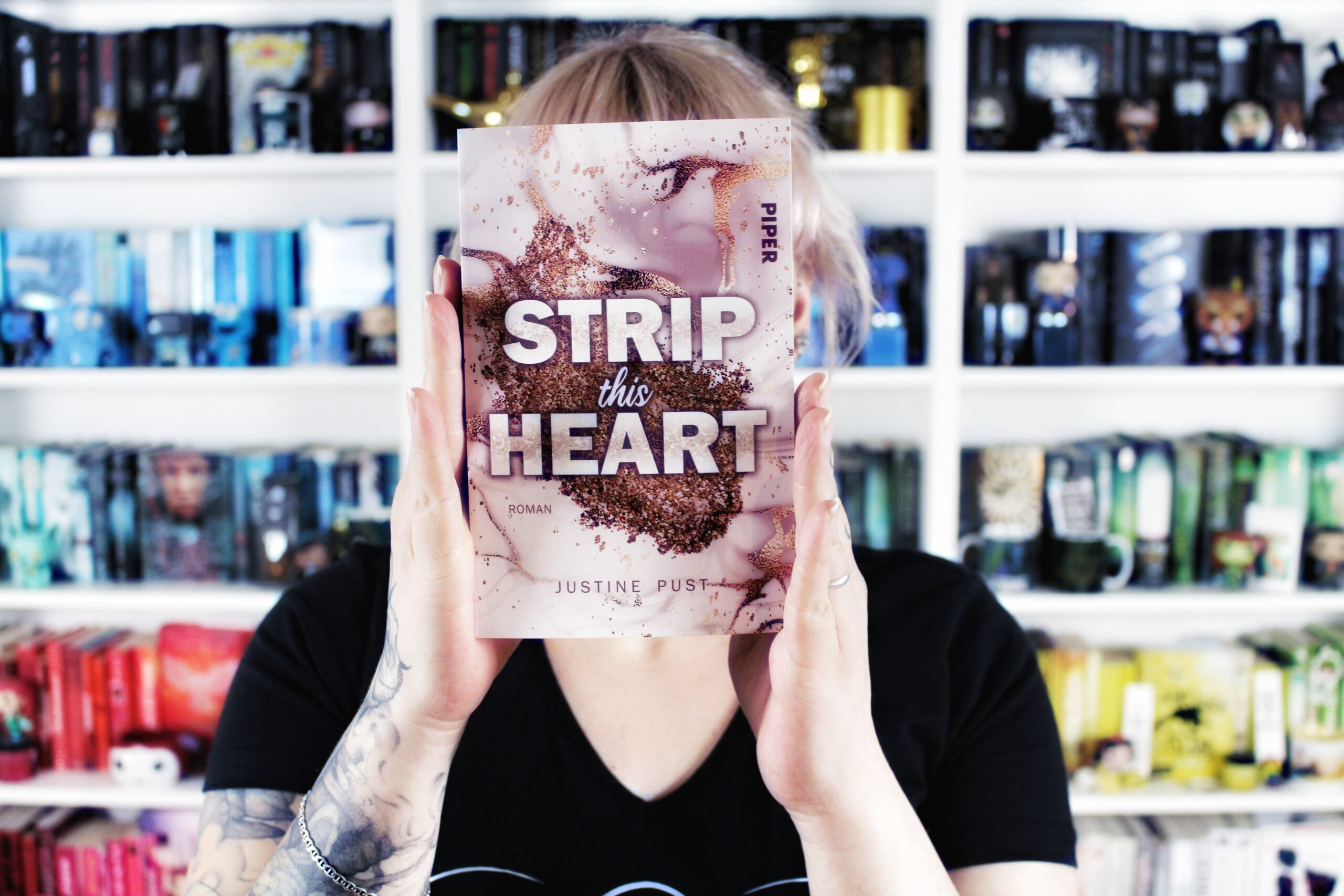 Rezension | Strip this Heart von Justine Pust