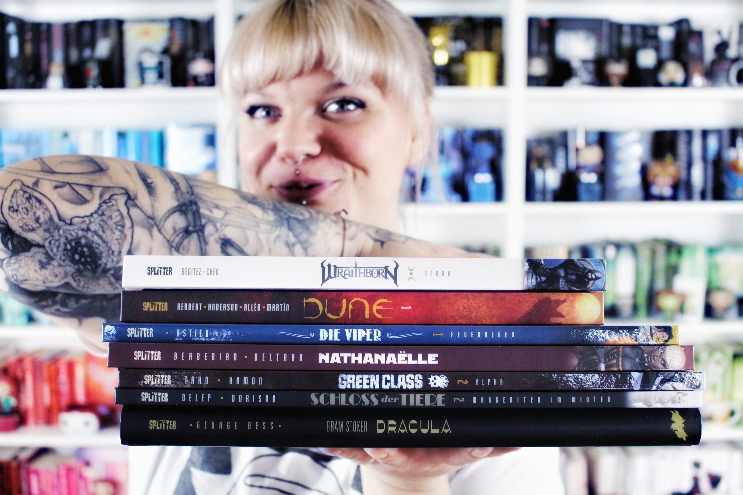 BOOKHAUL | Neuzugänge vom Splitter Verlag