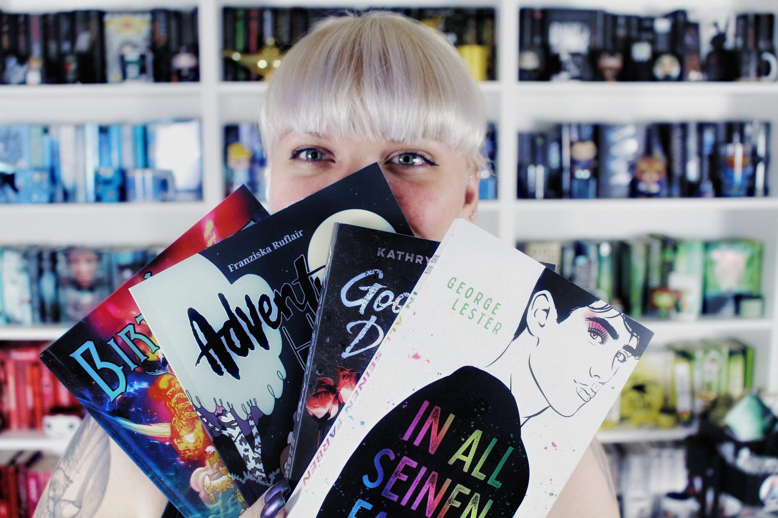 [Wochenrückblick] Zahnarzt, Lesezeit & viele neue Bücher