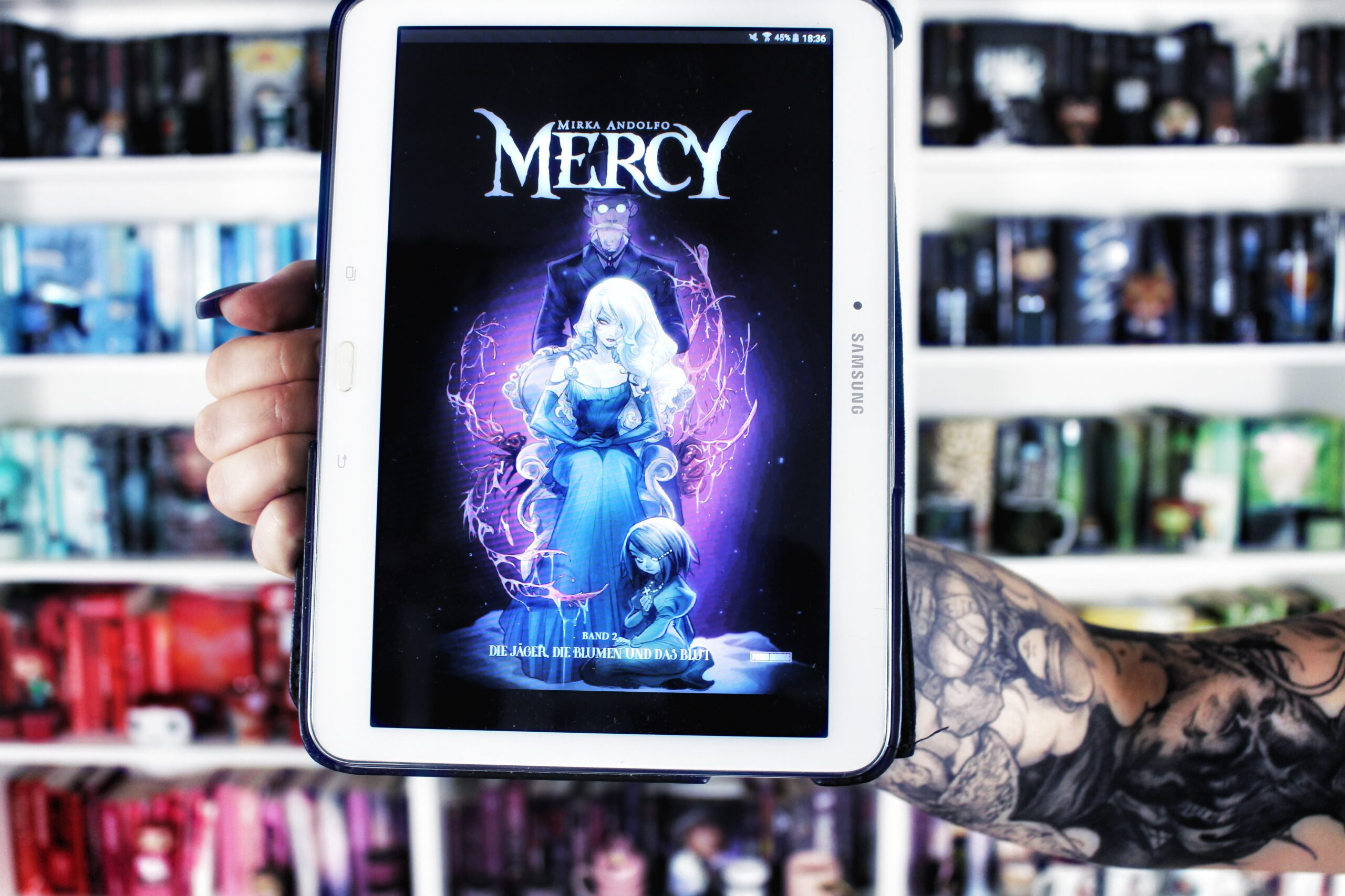 Rezension | Mercy 2: Die Jäger, die Blumen und das Blut